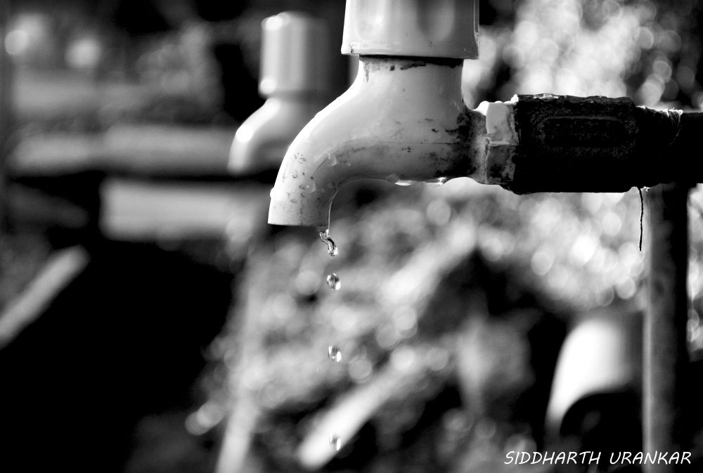 a dripping tap by Siddharth Urankar