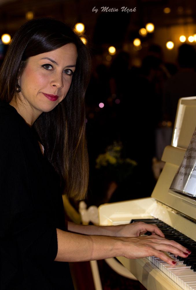pianist by Metin Ucak