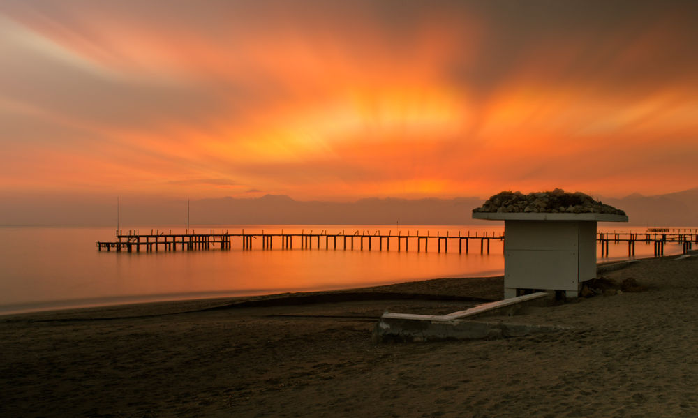 sunset in Kundu by Metin Ucak