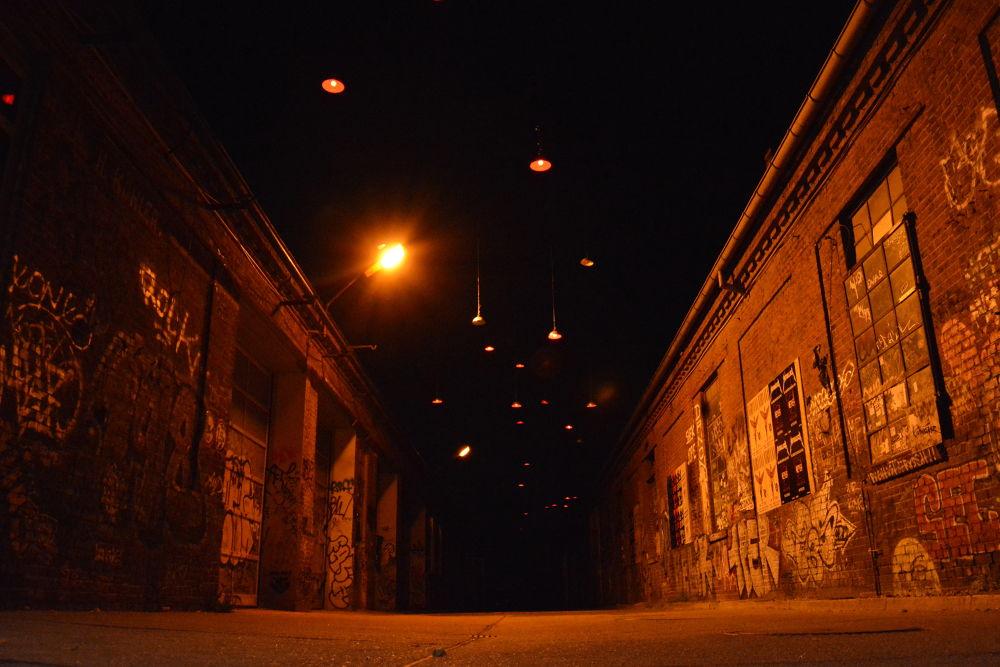 Lights in the Sky - Darkness  by OliverSchillerFotografie