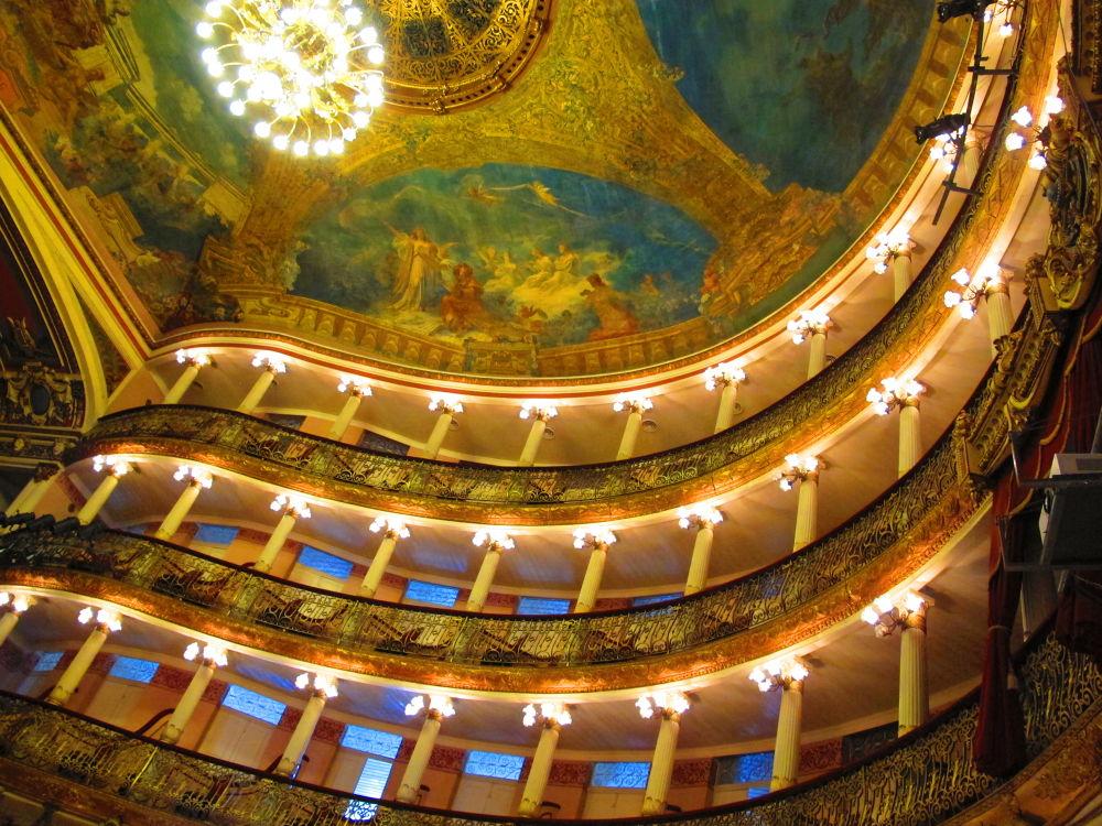 The Amazon Opera House Inside by marileiaseixas