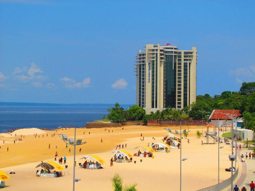 manaus_ponta_negra_beach by marileiaseixas