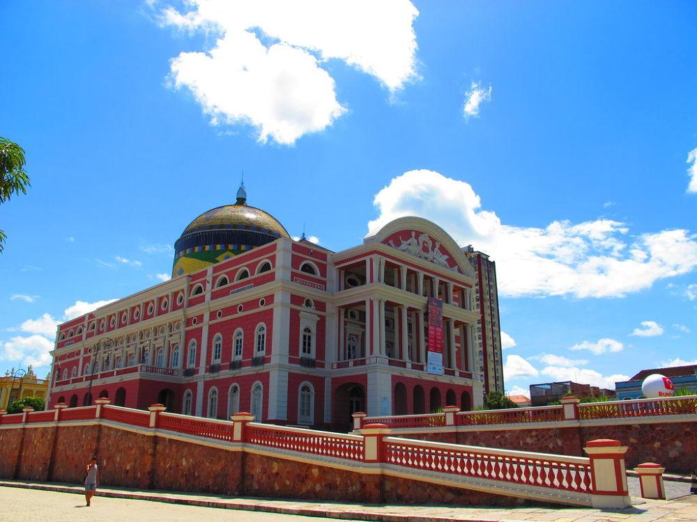 The Amazon Opera House by marileiaseixas