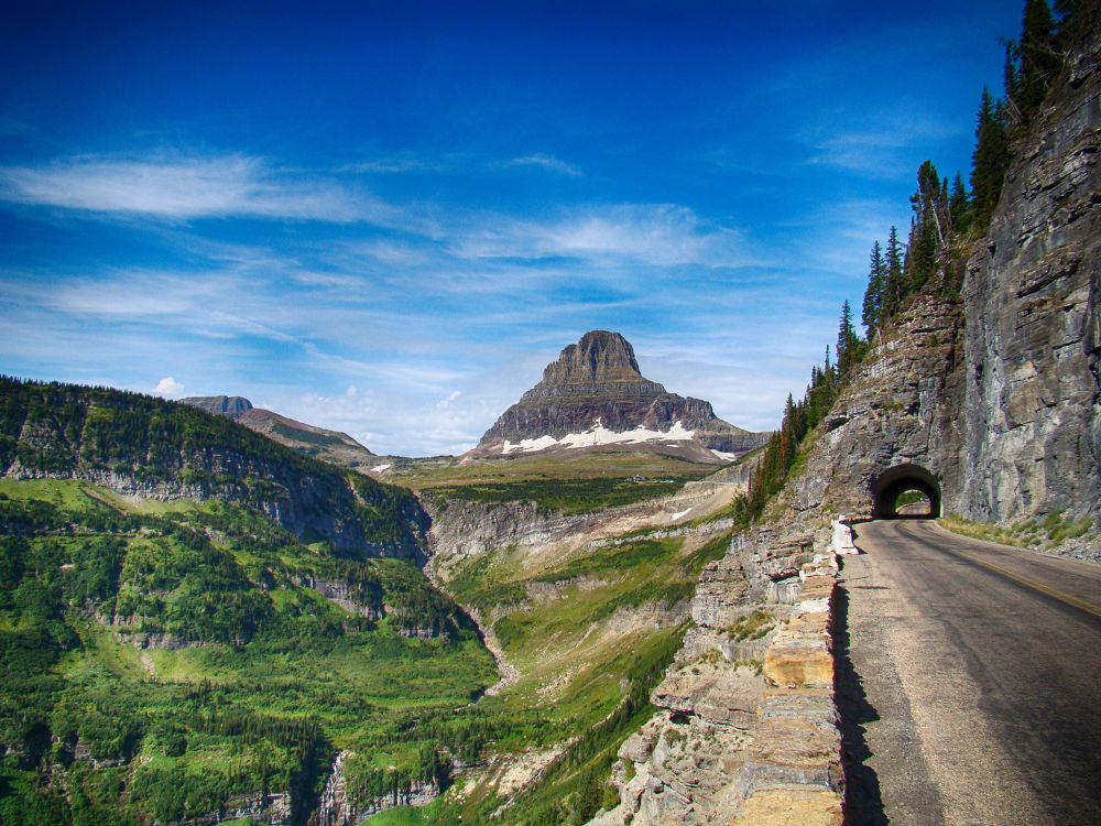 Going to the Sun Road, Logans Pass by slavewoman7
