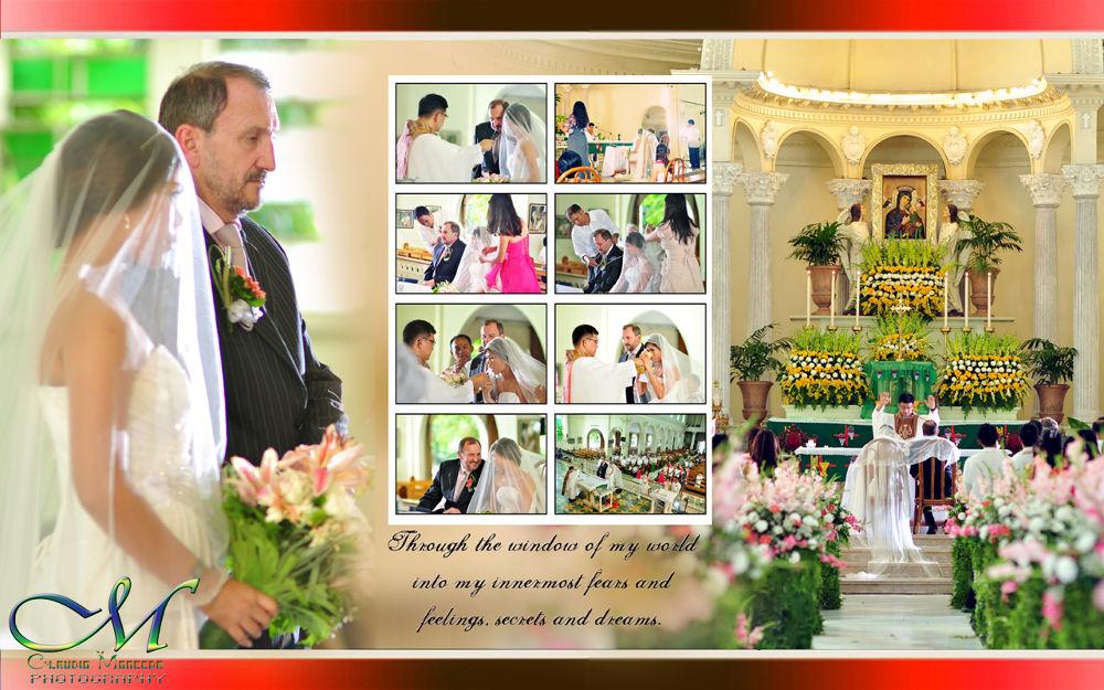 the wedding  by claudiomonceda