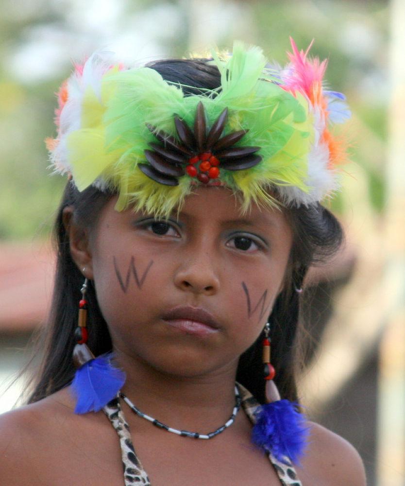 Native Girl by Ricardo Iniguez