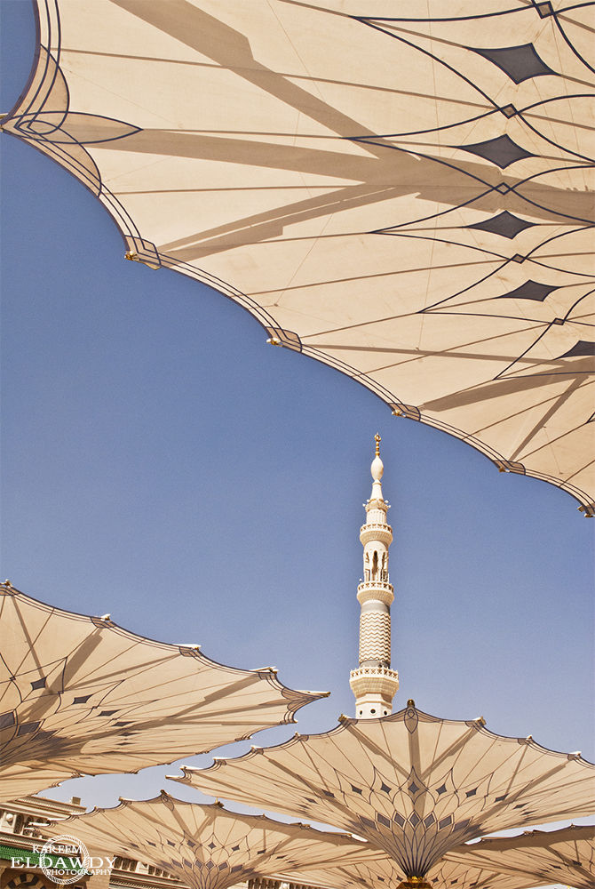 Prophet's Mosque in Madina monawra - KSA by kareem Mahgop