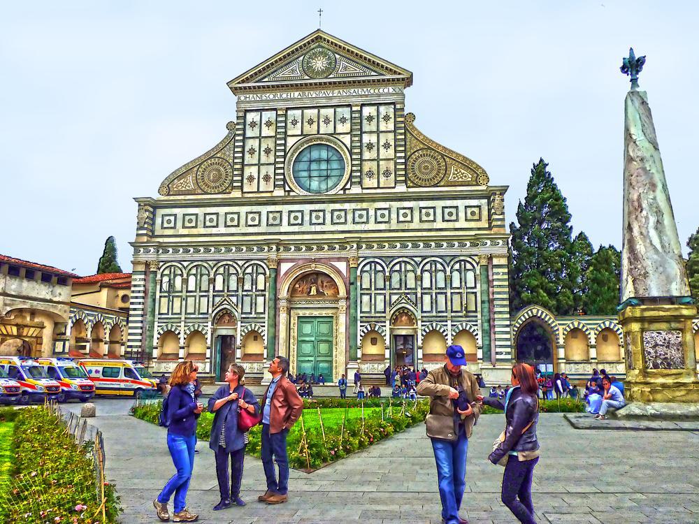 Firenze Santa Maria Novella by MOROMORINO