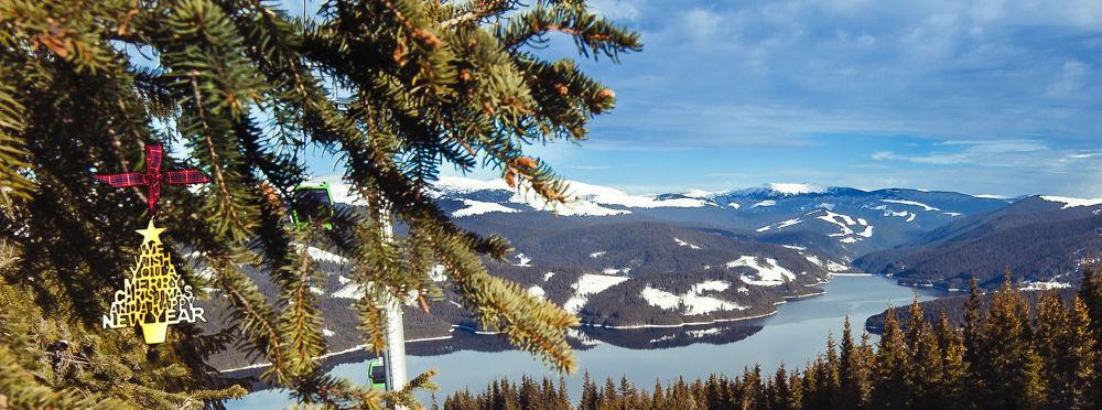 winter lake card by dnyphoto