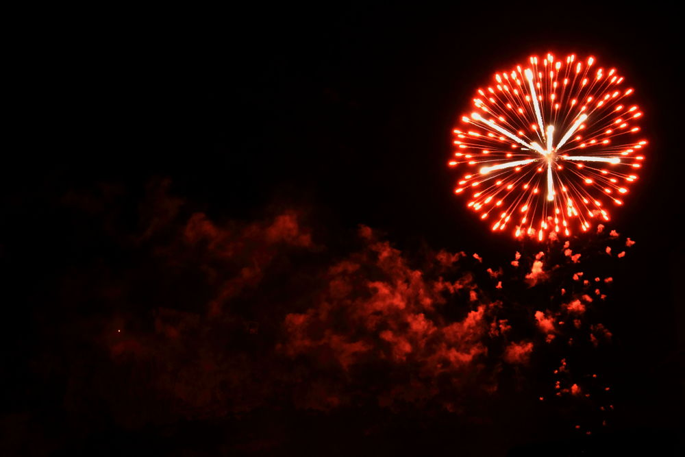 san vigilio firework by Emanuele Bobotis