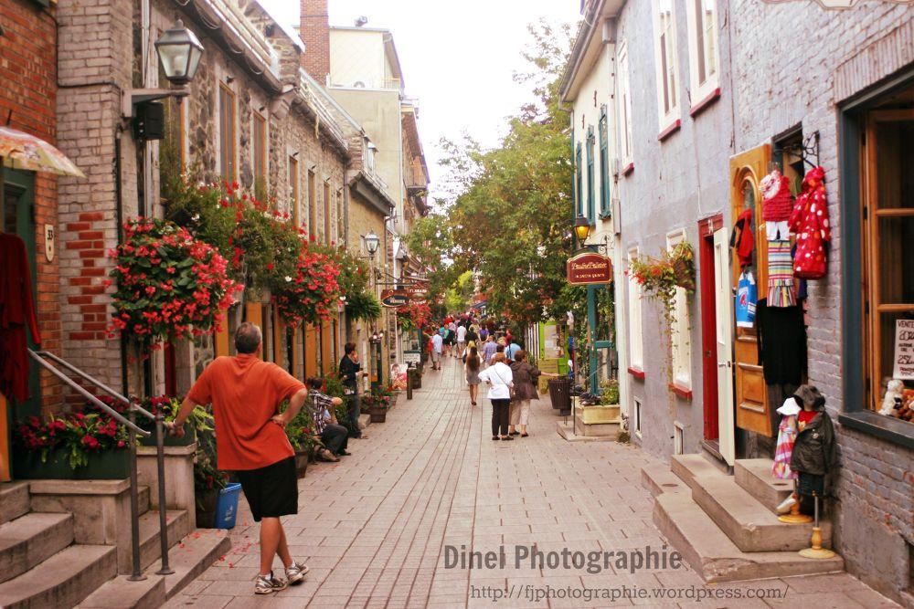old Quebec by felix dinel