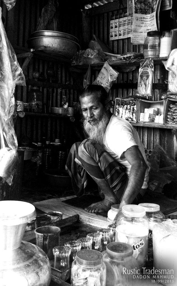 Rustic Tradesman by Dadon Mahmud