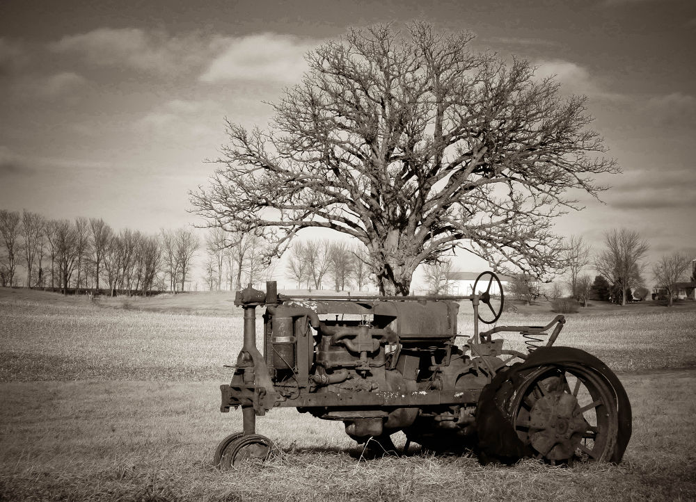 Country Tractor by AMD Images