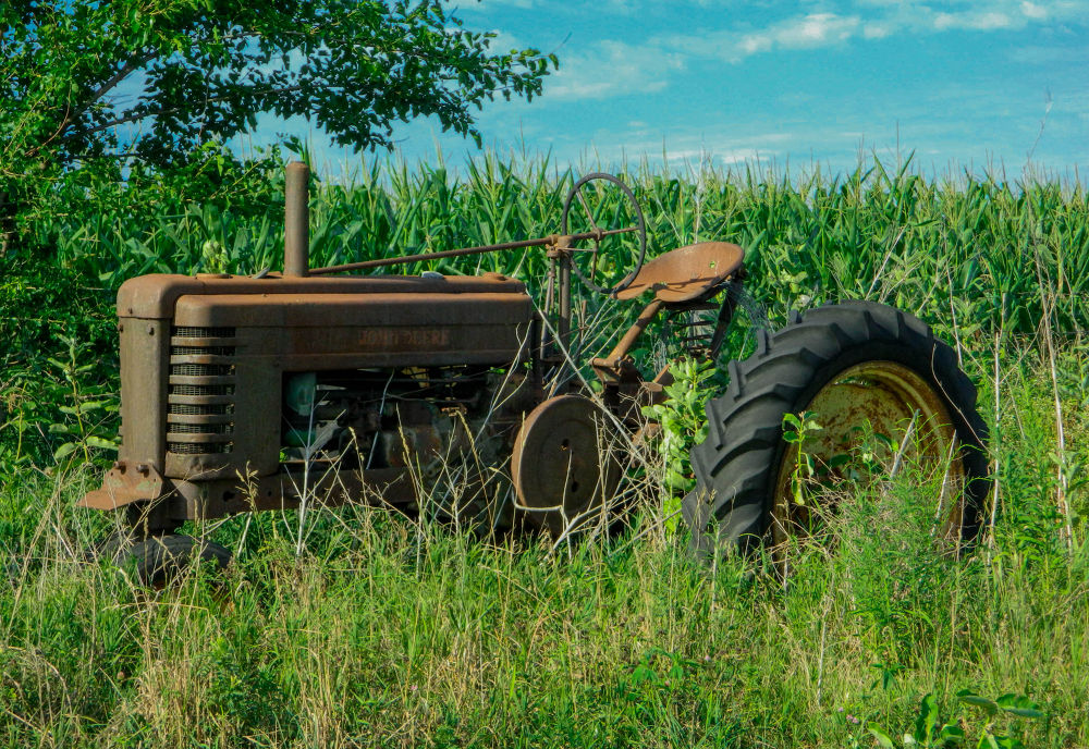 Photo in Nature #country #tractor #farm