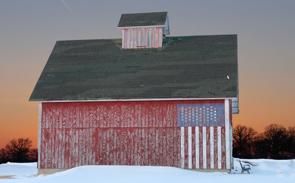 USA Barn by AMD Images