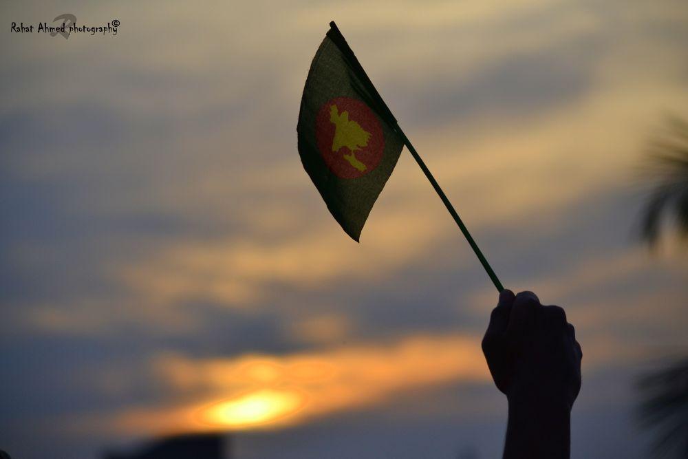 The Flag of Bangladesh ( জয় বাংলা ) by Rahat Ahmed