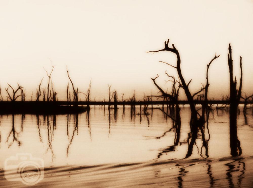 Lake Kariba Sunset by karencolebeckphotography