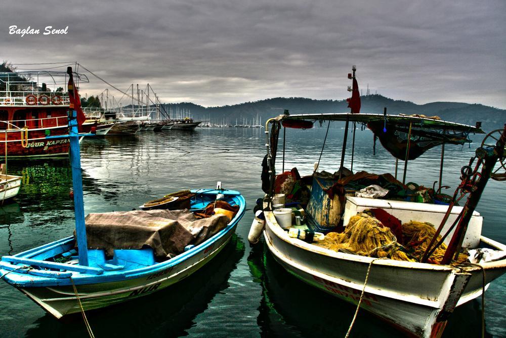 Photo in Sea and Sand #boats #sea #seascape