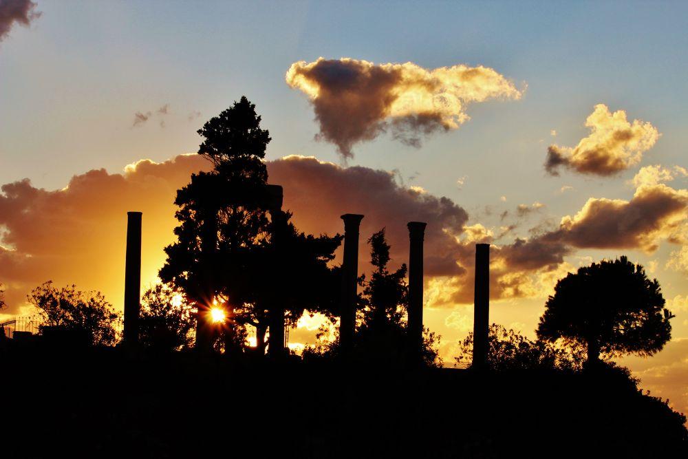 Sundown Byblos. by Alexandre Mounayer