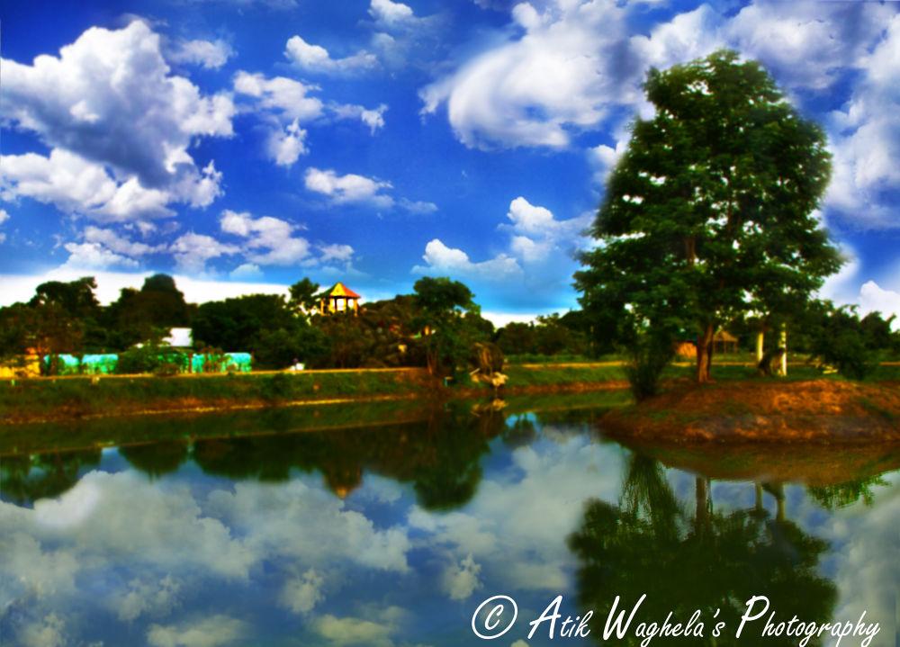 somewhere.. by Atik Waghela