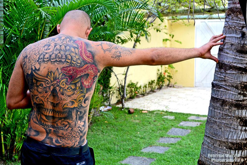 Oriental Tattoo by Henrique Wiering