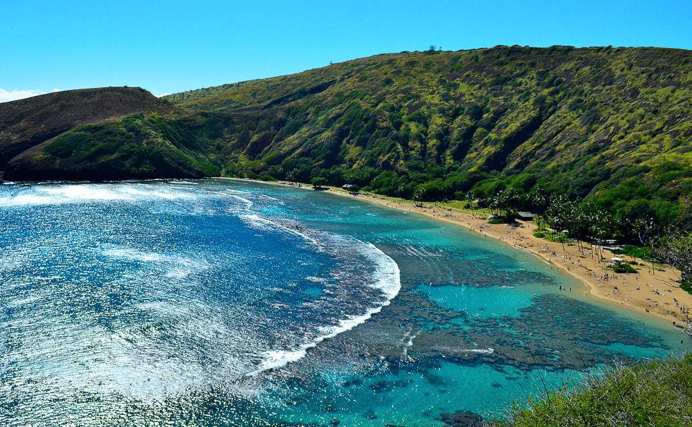 Photo in Random #hanauma bay #oahu #hawaii #beautiful beach