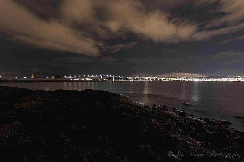 Tromsø by night by Liz Vinger