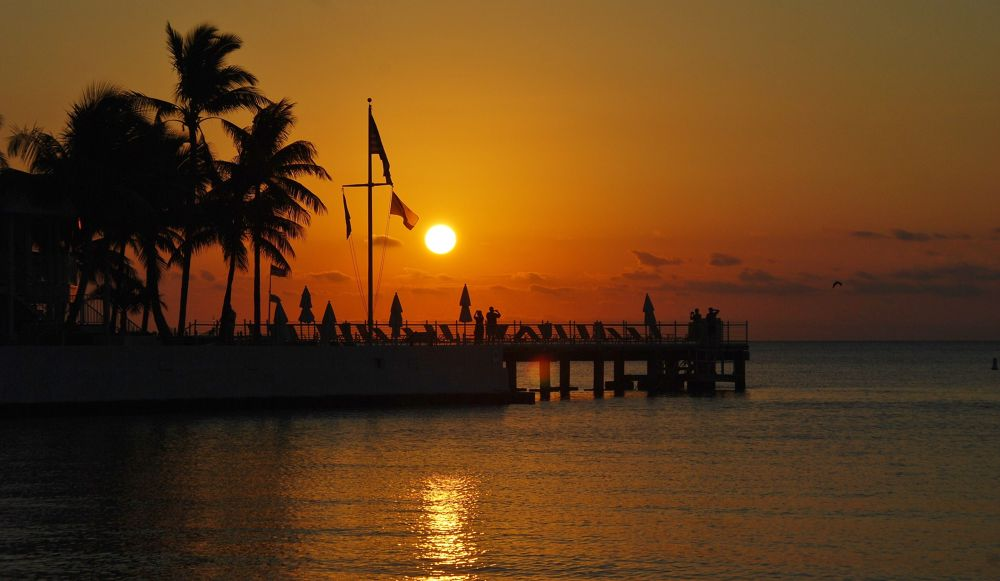 Amazing sunrise, Key West by Liz Vinger