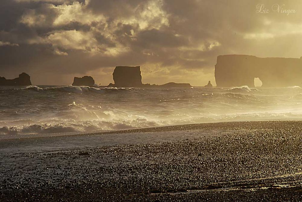 Photo in Nature #sea #waves #vik #iceland
