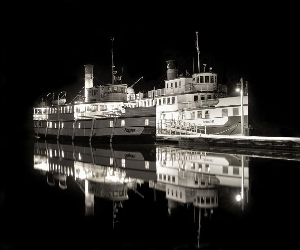 RMS Según and Wenonah II by Daniel J Bellyk