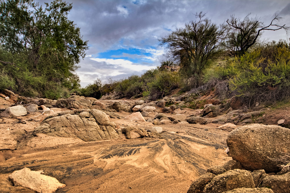River gone dry by RobertBascelli