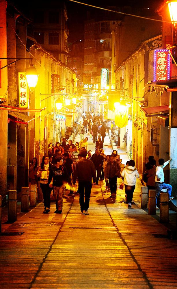 macau old street by fung1128