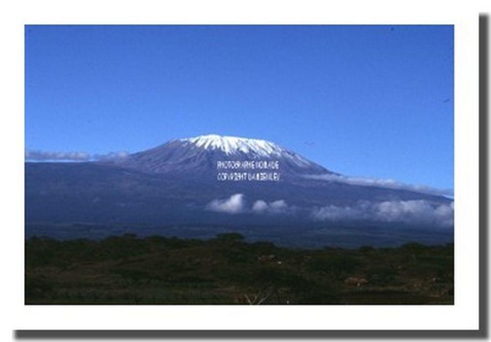 le kilimandjaro by ugo12dolly