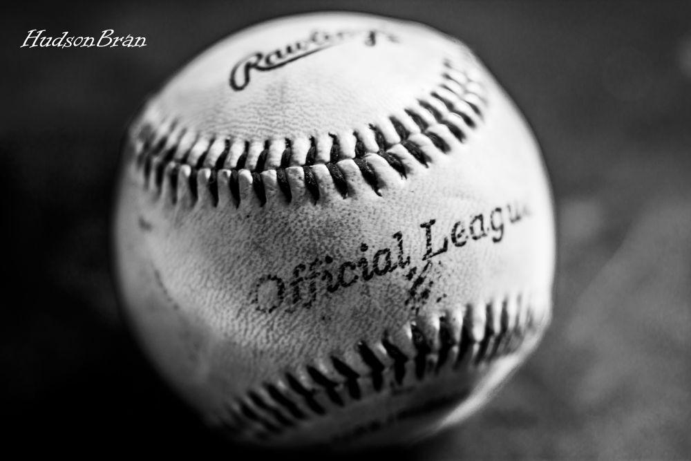 Old Baseball by Hudson Bran