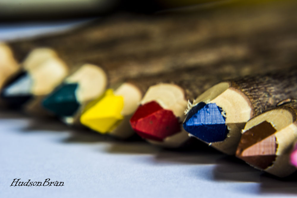 color pencil by Hudson Bran