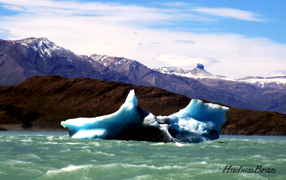 Upsala Glacier - Glaciar Upsala - Patagonia - Argentina  by Hudson Bran