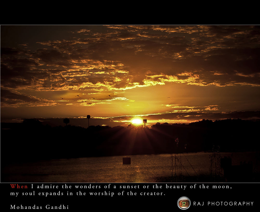 sun set by rajesh