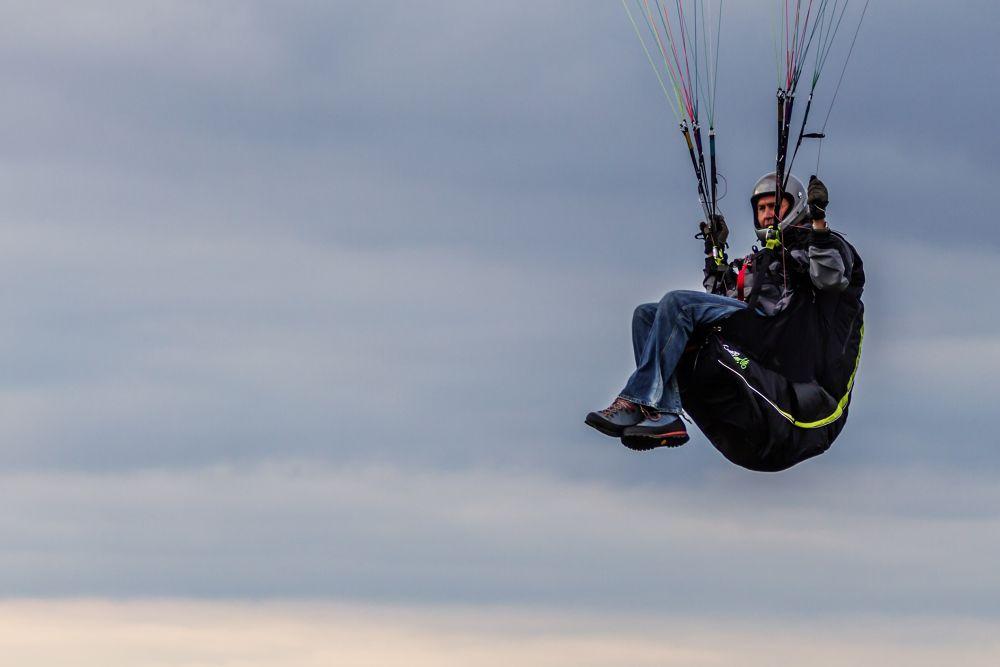 Paraglider by Blackalder Photography
