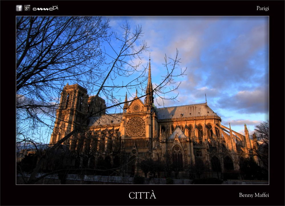 077-CITTà Parigi by bemaffei
