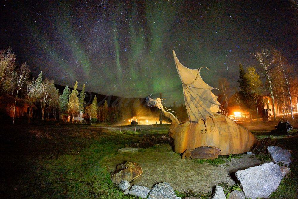 Dragons Aurora by aaroncorbeil