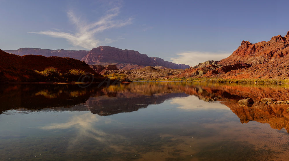 River Reflections  by aaroncorbeil