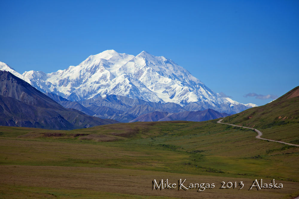 Mt. Mckinley, Denali National Park Alaska by mikekangas