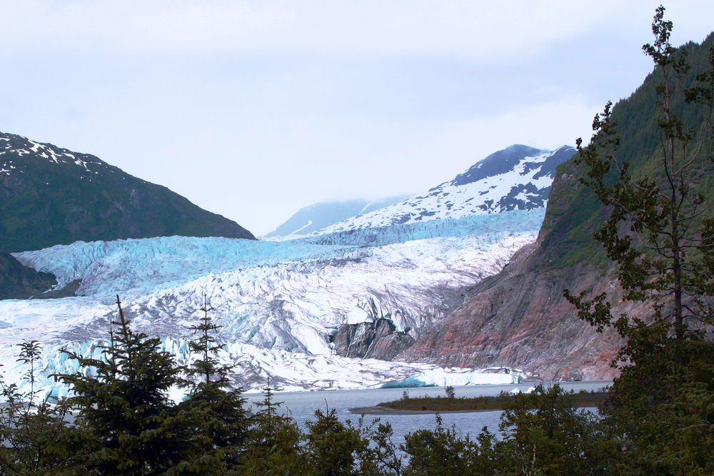 Mendenhall Glacier by mikekangas