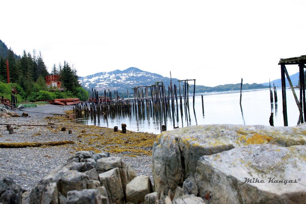 abandoned Salmon Cannery (1939-1959) Port Ashton, Alaska by mikekangas