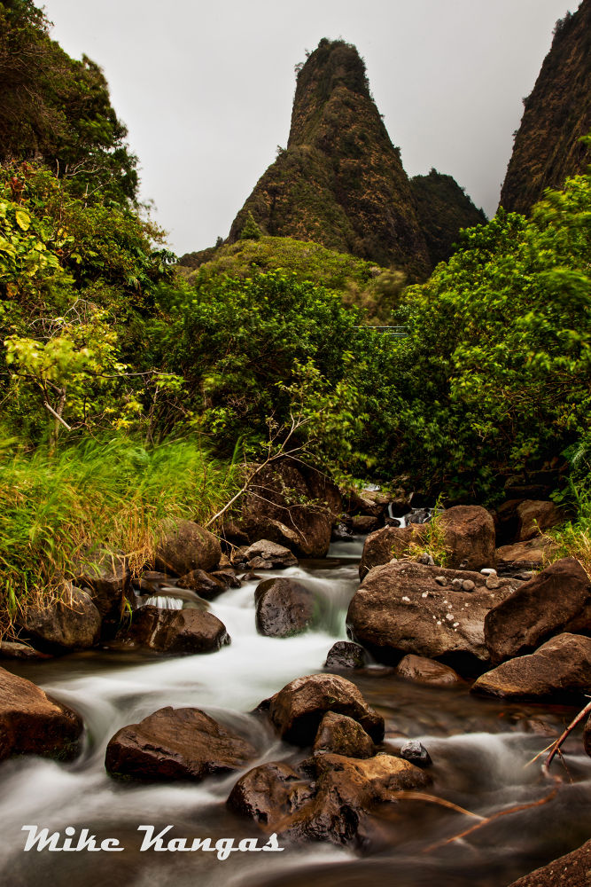 Ioa Needle, Maui,HI by mikekangas