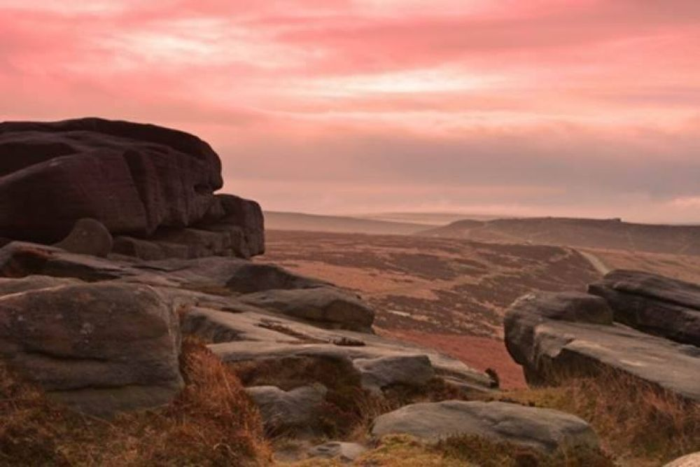 stanage edge by peter roberts
