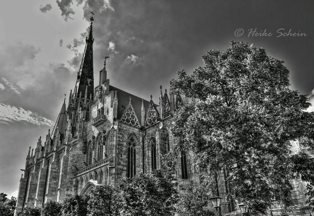St.  Marien Church Mühlhausen / Thüringen  by HeikeSchein