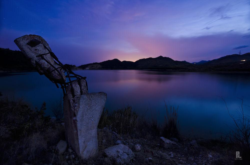 Atardecer en el pantano by Pedro Llopis