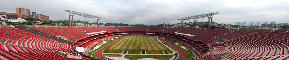 Cicero Pompeu de Toledo Stadium  by renatogizzi
