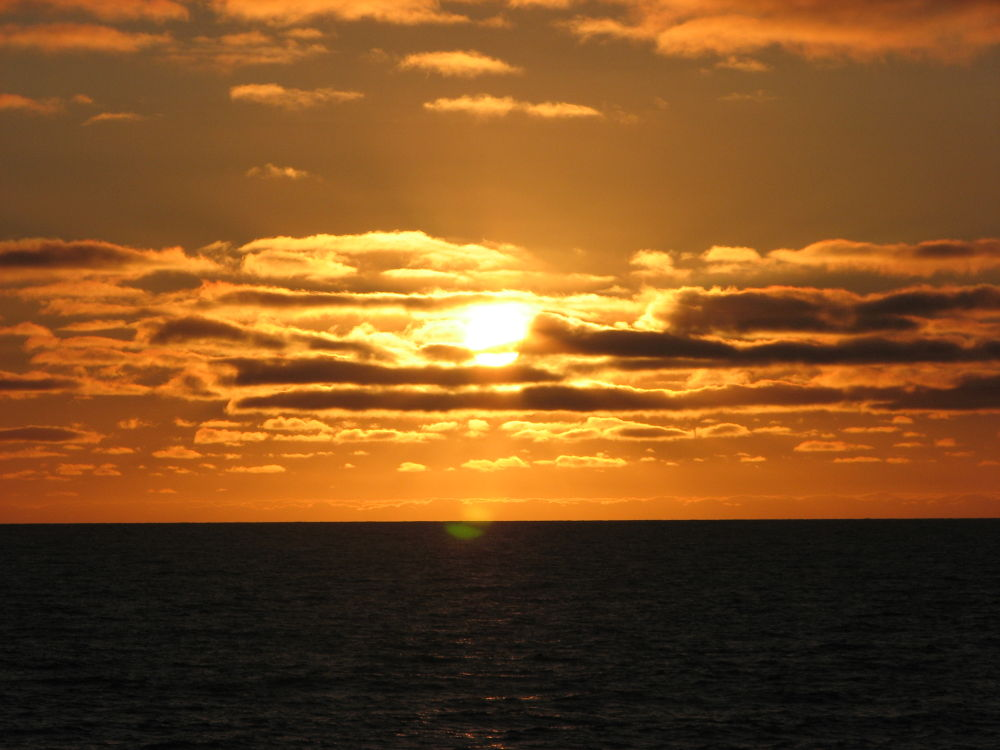Sunset in the Mediterranean by RichardWynne